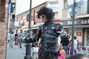 Concurso internacional de estatuas humanas de Leganés