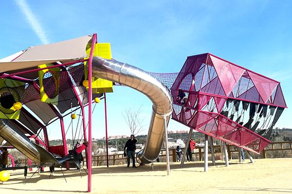 Resultado de imagen de Parque del Manzanares