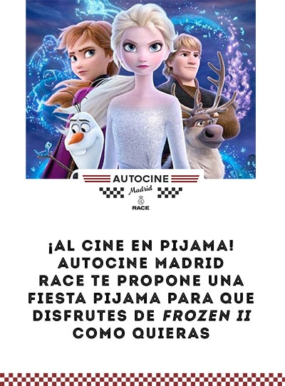 Image result for autocine madrid frozen