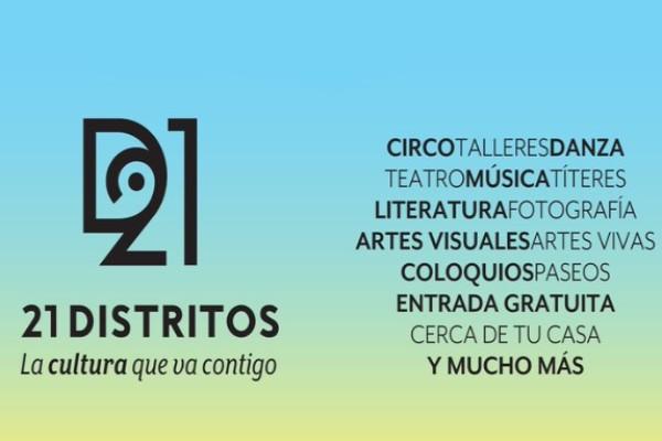 21 distritos, la cultura que va contigo!! - planinfantil.es