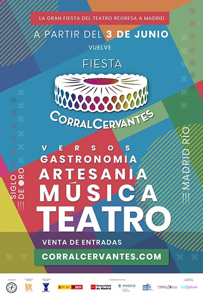 Madrid Río acoge la gran fiesta del teatro del Siglo de Oro de la mano del Corral  Cervantes - planinfantil.es